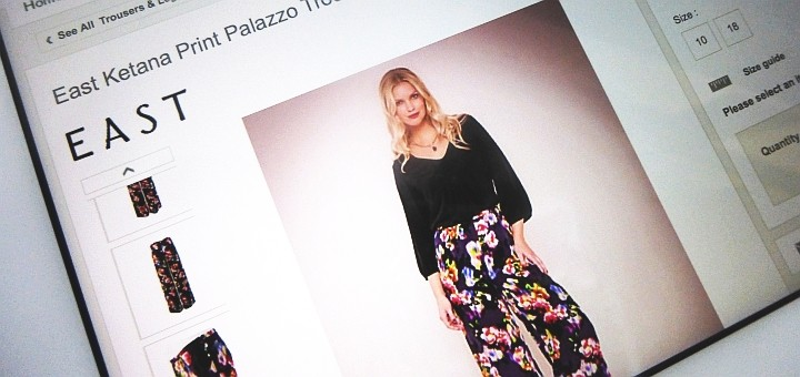 Palazzo trousers by East at JohnLewis.com