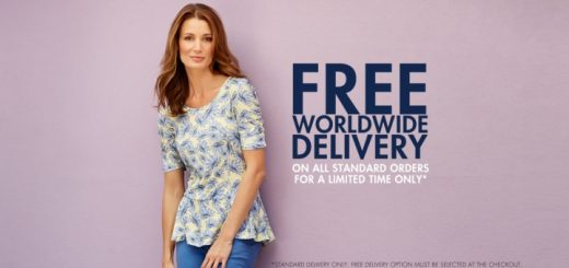 Free worldwide delivery at M&Co