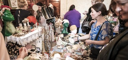 One of Jayne and Mandy's previous Vintage Fairs