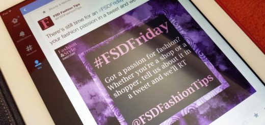 An #FSDFriday tweet