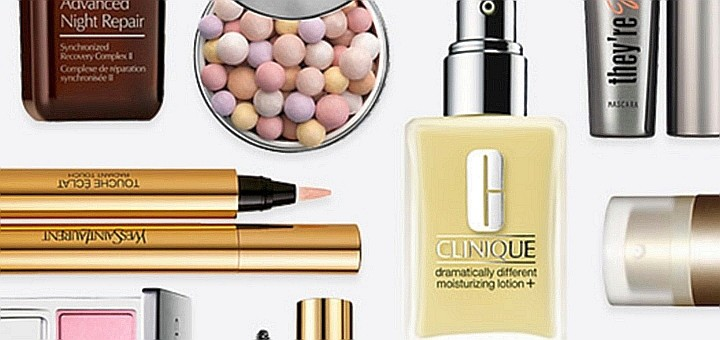 Beauty products from House of Fraser