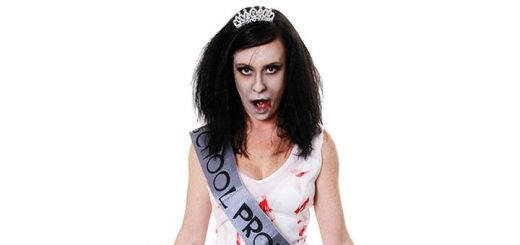 Zombie Prom Queen Fancy Dress Costume from Blue Banana (£17.99)