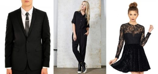Some of our favourite black fashions from (l-r) Burton, Ark and Oh My Love