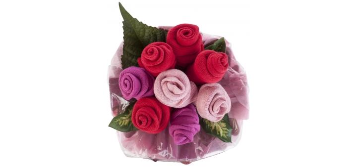 Colour Bursts Sock Bouquet at SockShop (£30)