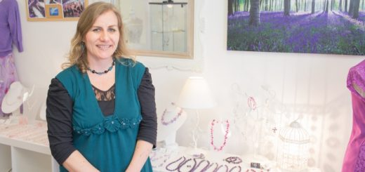 Marianne in her shop. Photograph by Darren Mack