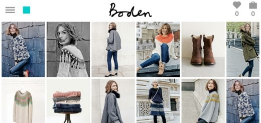 Browsing the Boden digital catalogue