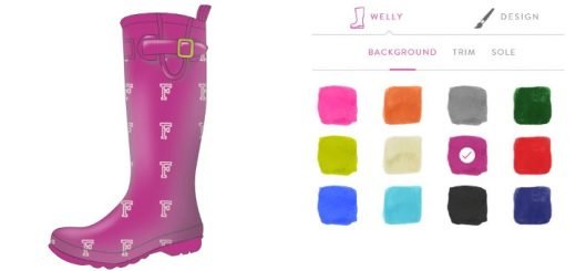 Our own attempt at an FSD-themed Joules welly design