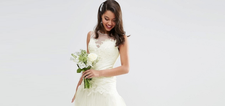 Retailers like ASOS are now selling wedding dresses