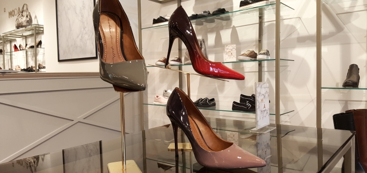 Moda in Pelle at Sandersons department store, Sheffield. Photograph by Graham Soult