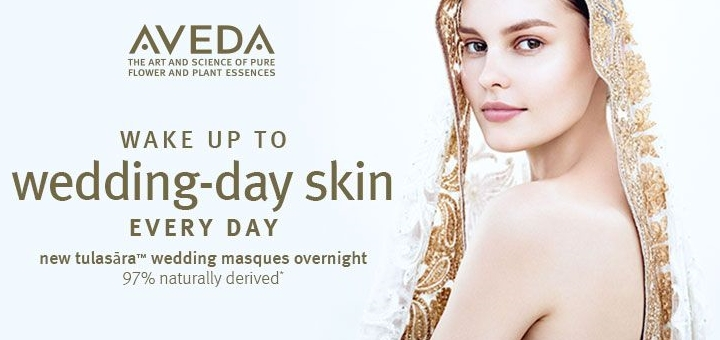 Aveda Wedding Masque at House of Fraser