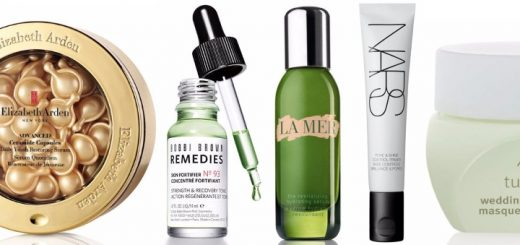 Some of the new skincare essentials at House of Fraser this January (products not shown to scale)