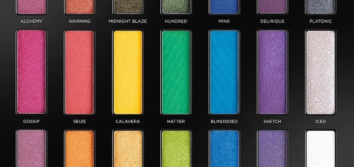 Full-spectrum eyeshadow palette from Urban Decay