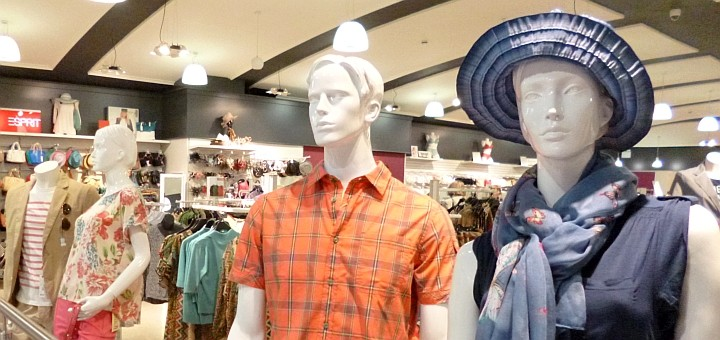 Mannequins in a department store. Photograph by Graham Soult