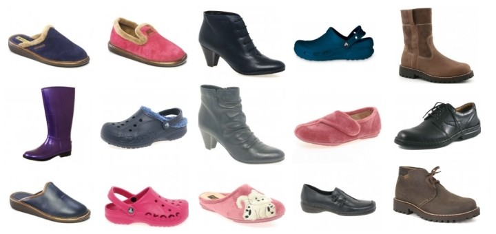 Branded footwear from Charles Clinkard