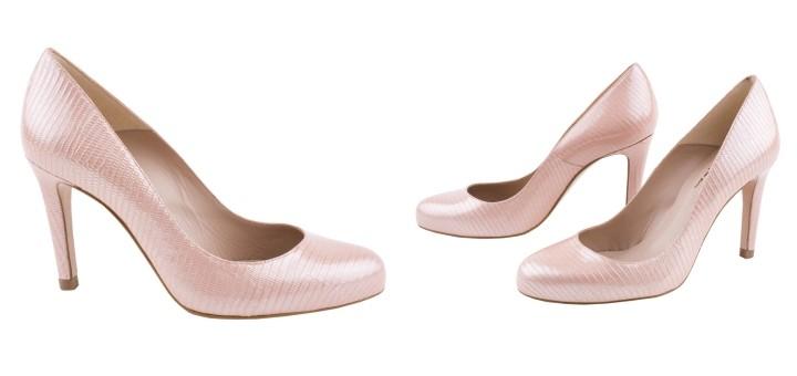 Jones Bootmaker Cactus Court Shoes in Pink, £79.20 at Jones Bootmaker