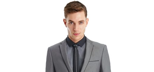 Ventuno 21 Slim Fit Light Grey Suit from Moss