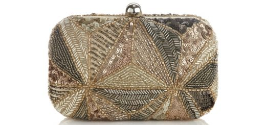 Mika Sequin Box Clutch bag from Monsoon