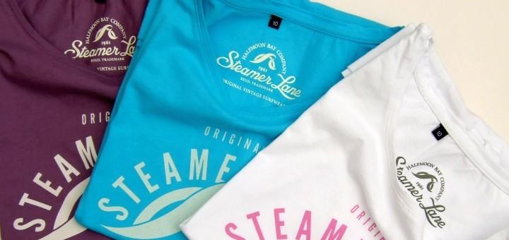 Women's Californian t-shirts from Steamer Lane