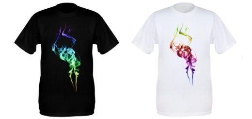 Smoke trail tees at Centrepiece Clothing