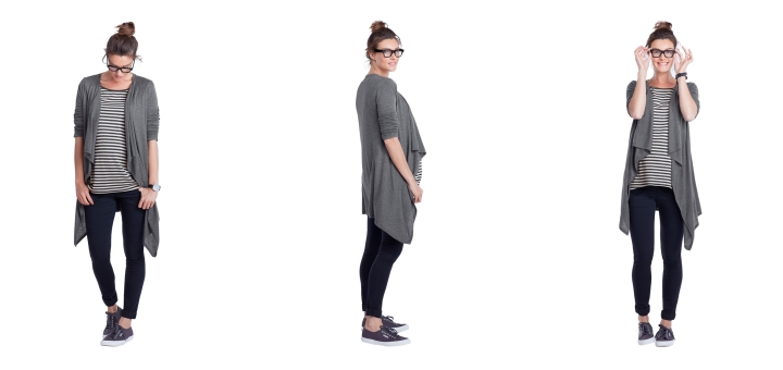 Harris Maternity Cardigan from maternity specialist Isabella Oliver (£89)