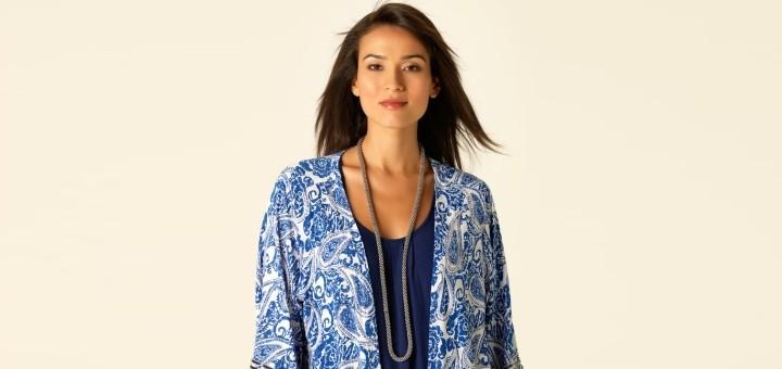 Embellished paisley print kimono - new at M&Co (£45)