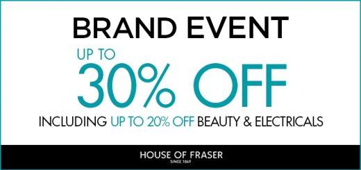House of Fraser Brand Event