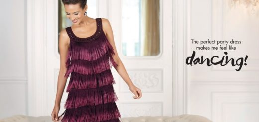Fringed flapper dress at M&Co (usually £89, but with 25% off using promo code)