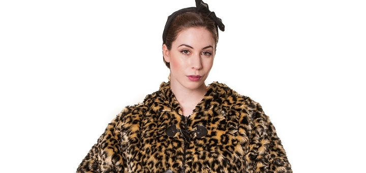 Banned Leopard Fur Short Jacket - £29.99 at Blue Banana