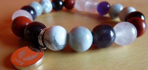 The Karma Feeling bracelet that we created