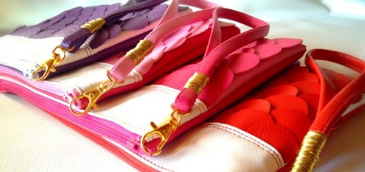 Clutch purse bags from Qmuro on Etsy