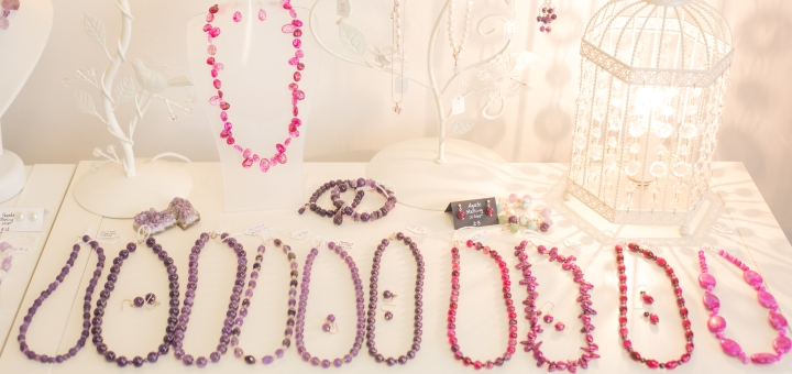 Some of Marianne's lovely necklaces. Photograph by Darren Mack