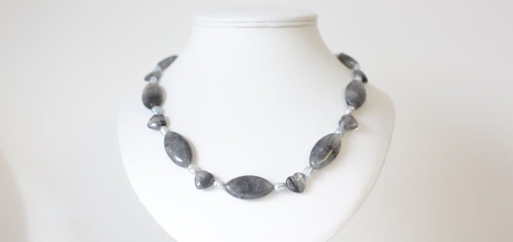 The Made by Marianne necklace that you could win. Photograph by Darren Mack