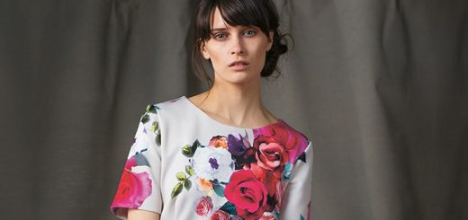 Aurora floral dress at Phase Eight