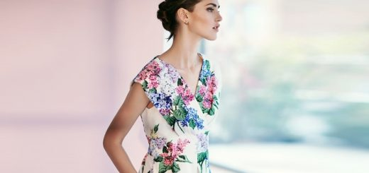 Lilac flower dress at Phase Eight (£140)