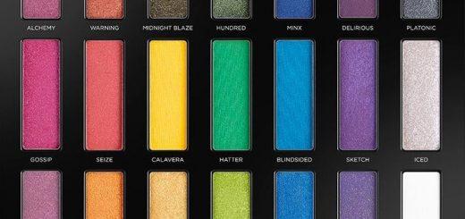 Full-spectrum eyeshadow palette from Urban Decay