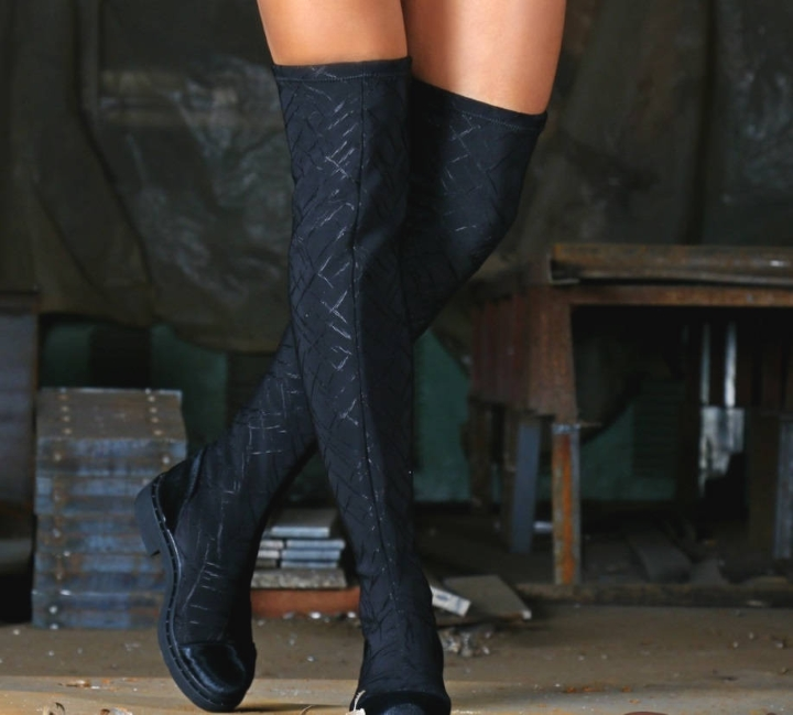 Knee-high boots from GB Shoes Boutique at Etsy