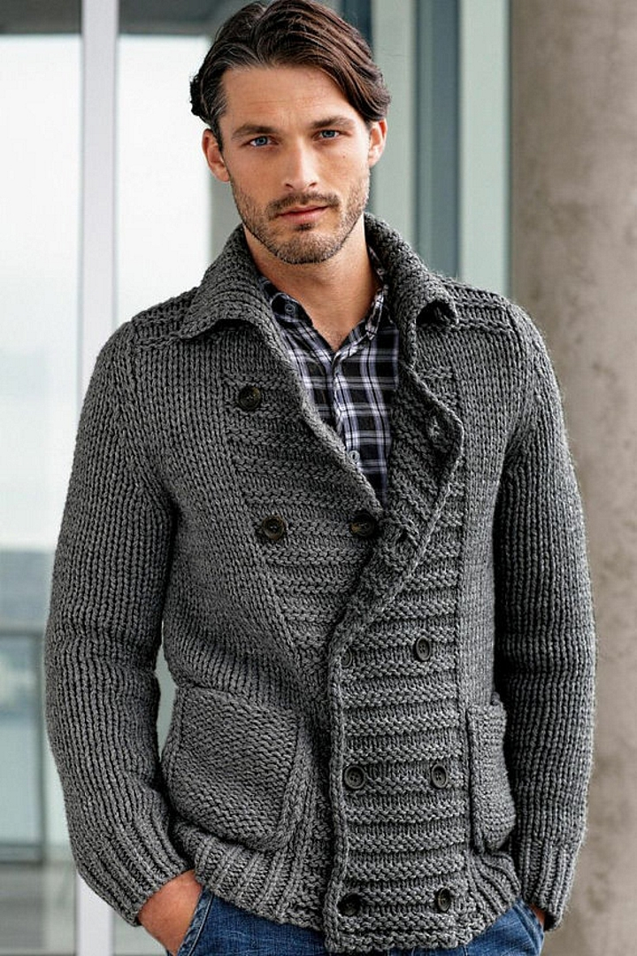 Grey sweater from Jovitta at Etsy