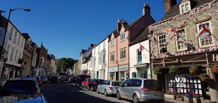 The Mistral shop in the heart of historic Malmesbury High Street