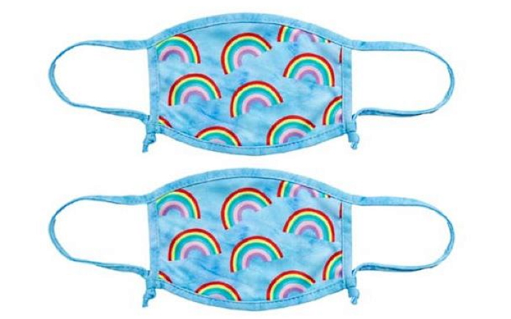 Skinnydip Adult Rainbow Print Reusable Face Coverings at Boots