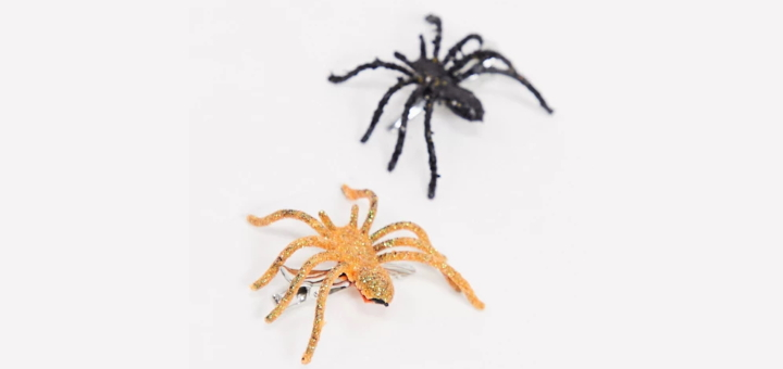 Spider hair clips from ASOS