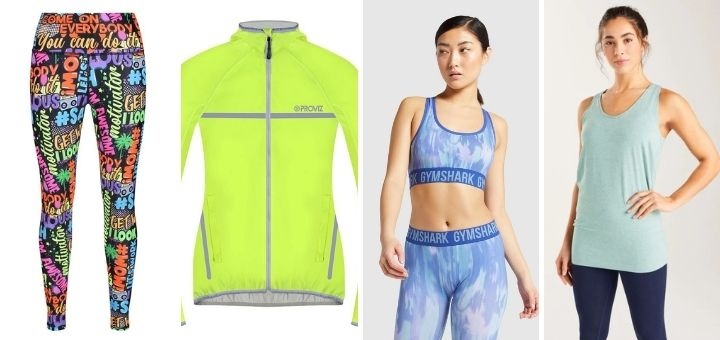 Our women's fitness fashion picks from Tikiboo, Proviz Sports, Gymshark and Bamboo Clothing