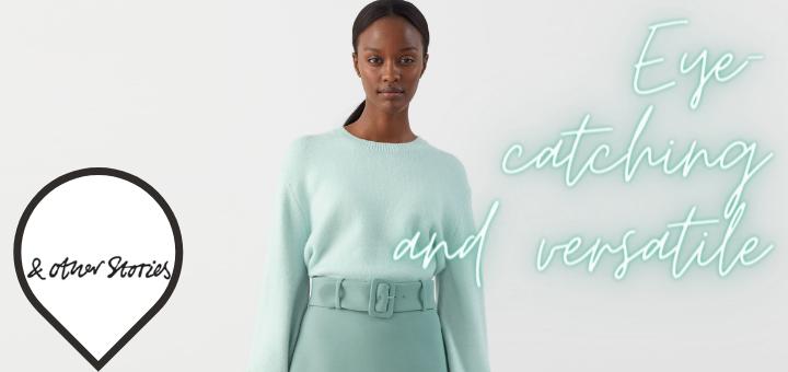 Buckle Belt Mini Skirt – & Other Stories
